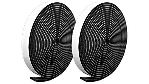 プランプ オリジナル 隙間テープ スキマッチ 黒 ブラック 厚 3 mm × 幅 15 mm × 長 2 m 4 個入 日本製 ゴムスポンジ 防水 防音 すきま 窓 玄関 引き戸 隙間