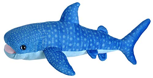 Wild Republic Blue Whale Plush, Stuffed Animal, Plush Toy, Gifts for Kids, Living Ocean 12'