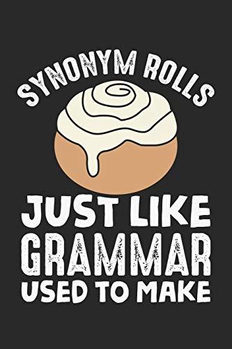 Synonym Rolls: Meme Englisch Grammatiklehrer Wortspiel Notizbuch liniert DIN A5 - 120 Seiten für Notizen, Zeichnungen, Formeln | Organizer Schreibheft Planer Tagebuch