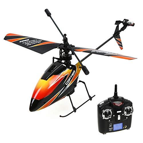 Deliawinterfel Wl V911 Mini- 2.4Ghz 4 Canales de Radio Rc Sola Hélice de Helicóptero Giroscopio V911 By