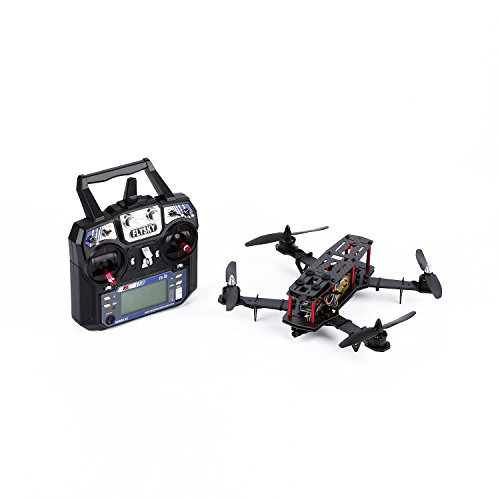 YKS 250 Quadcopter Full Carbon Fiber Frame Kit RTF Racing Quadcopter with Remote Controller (Assembled)