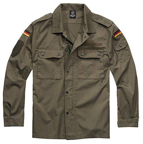 Brandit Men Lightweight Jacket BW Feldbluse, Taglia:3XL, Colore:Olive