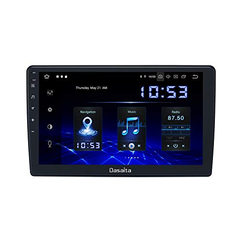 "Dasaita 10.2"" Android Car Radio for Jeep Wrangler Commander Compass Grand Cherokee Dodge RAM Video Multimedia Player Support Apple Carplay Bluetooth 5.0 GPS Plug and Play"