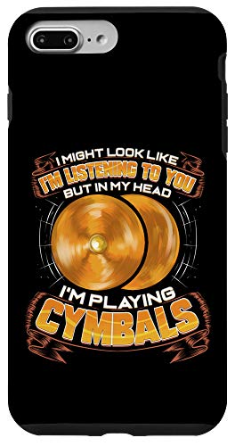 iPhone 7 Plus/8 Plus Cymbals Drummer Marching Band Member Orchestra Cymbalist Case