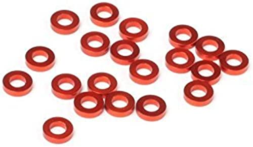 HOT BODIES 114490 Aluminum Washer 3x6x1.5mm Orange (20) Pro 5 by Hot Bodies
