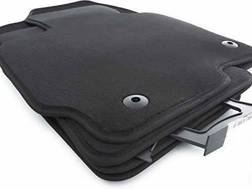 Fußmatten (KE) Velours Automatten SET Original Qualität 4-teilig schwarz