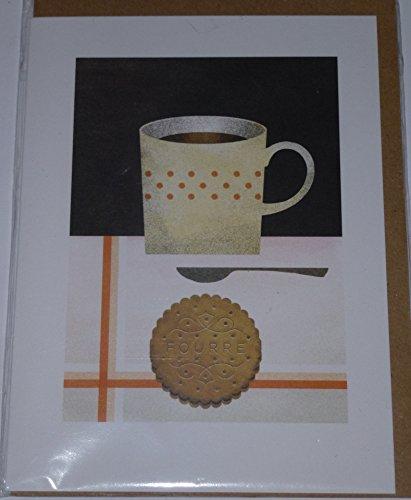 Groeten Kaart - Fourre Biscuit (Thee en Koekjes)