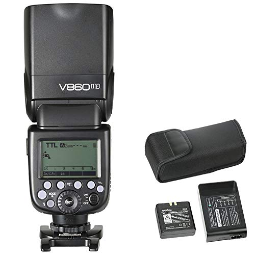 Godox Ving V860II-F Pioneering Camera Flash Speedlite, TTL 2.4G...