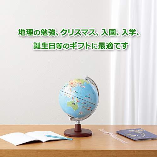レイメイ藤井『しゃべる国旗付き地球儀スタンダード(OYV46)』