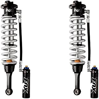 FOX 3.0 FACTORY INTERNAL BYPASS COIL-OVER RESERVOIR SHOCK SET -ADJUSTABLE FRONT 2010-2014 Ford F-150 SVT Raptor Lift: 0-2