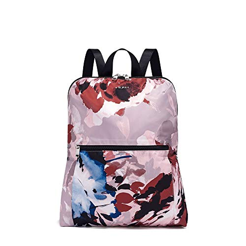 TUMI - Voyageur Just In Case Backpack - Lightweight Foldable Packable Travel Daypack for Women - Blush Floral