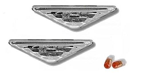 AD Tuning GmbH & Co. KG 960032 Seitenblinker Set, Klarglas Chrom
