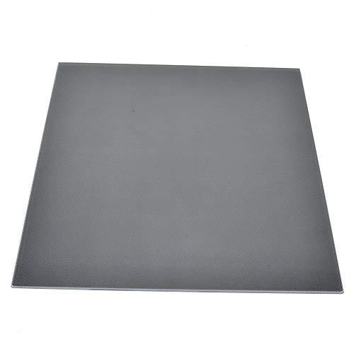 Plataforma de vidrio de silicio de cristal de carbono reemplazable, piezas de impresora duraderas de alta calidad, práctico vidrio de silicio de cristal de carbono para impresora