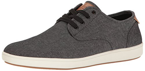 Steve Madden Men's Fenta Fashion Sneaker, Black Fabric, 8.5 M US