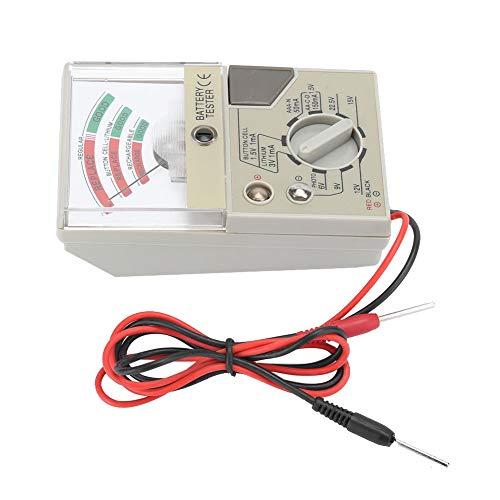 Fdit Testeur de Batterie de Montre, Outil de Batterie d'analyseur de testeur de Pile Bouton, Outil de réparation de Montre Portable