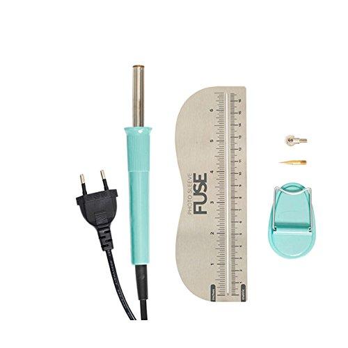 We R Memory Keepers WR662533 Sleeve Fuse Tool-l'Outil à Fusionner des Chemises pour Photos, Plastique, Multicolore, 26 x 17,4 x 6,2 cm