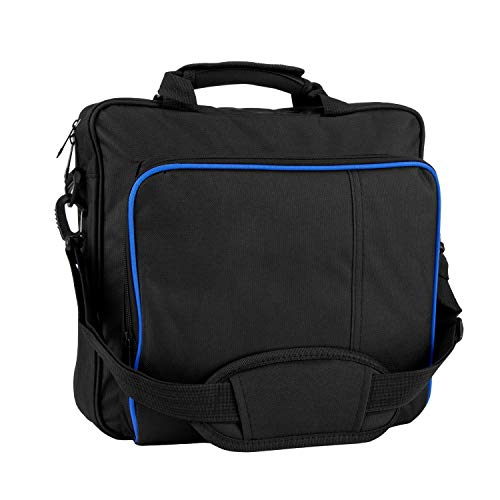 ROSEBEAR PS4 Carrying Case,Multifunctional Waterproof Carry Bag Travel Case Handbag Shoulder Bag for Sony Playstation 4 PS4 Console Storage Package Portable