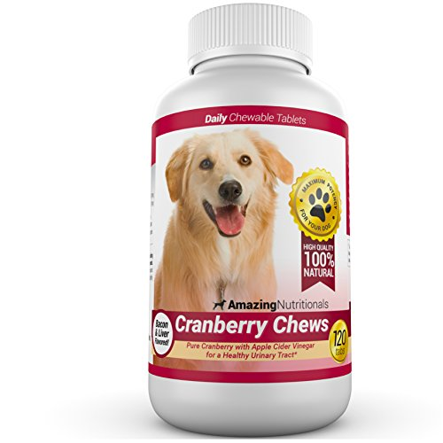 Top 10 best selling list for daily cranberry supplements for female dogs