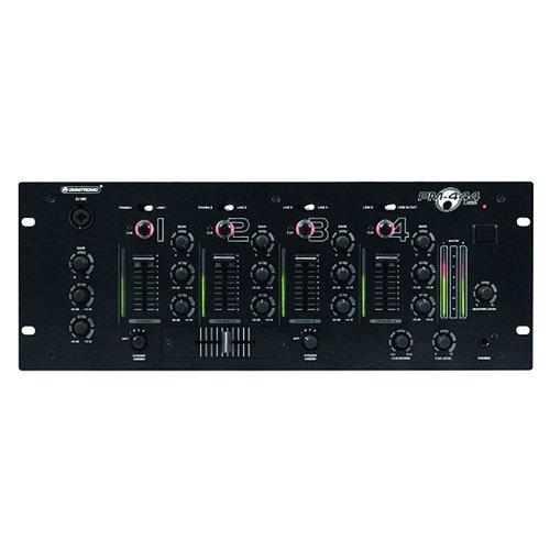 Omnitronic 10006823 PM-444USB DJ-Mixer (4-Kanal)