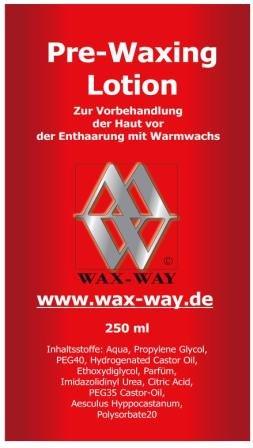 Vorbehandlung Pre Waxing Spray 250 ml für Haarenfernung mit Wachspatronen Sugaring
