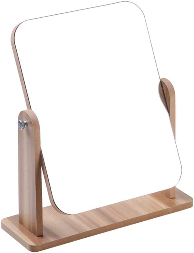 Floatant Desk Mirror outlet Wooden Adjustab Portable 360 low-pricing Degree