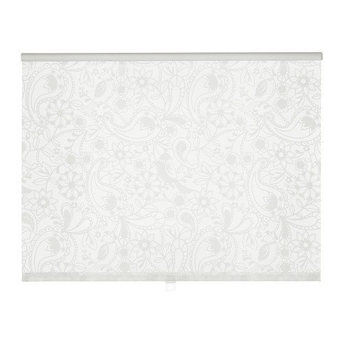 IKEA LISELOTT Rollo in weiß; (160x195cm)