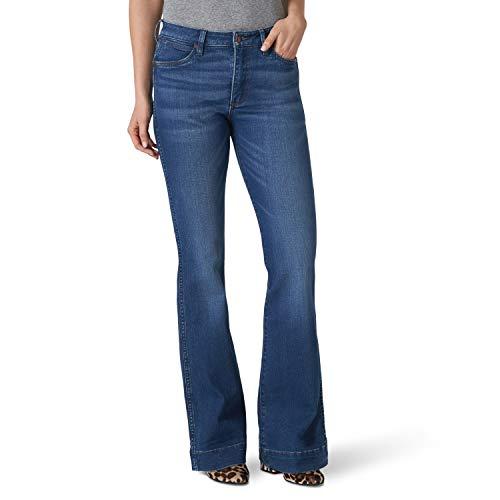 Wrangler Women's Misses Retro Five Pocket High Rise Trouser Jean, Blair, 27W x 36L