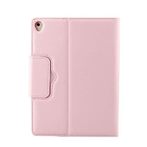 BlinkCat Funda Teclado para Apple iPad 2 / iPad 3 / iPad 4, PU Cuero Carcasa Folio con Soporte y Magnético Teclado Bluetooth Inalámbrico Removible - Rosa