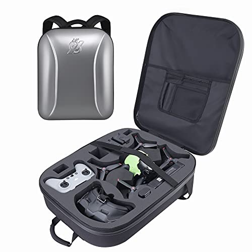 Professional FPV Backpack for DJI FPV Combo,Waterproof Hard Shoulder Bag Case Fits DJI FPV Racing Drone(No Need to Unload Propeller),Goggles V2,Remote Controller 2 and Other Accessories