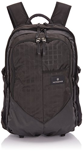 "Victorinox Deluxe Negro Mochila - Mochila para portátiles y netbooks (Negro, 43,2 cm (17""), 1,2 kg, 340 x 180 x 500 mm)"