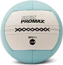 Champion Sports RPX14 Rhino Promax Slam Balls, 14 lb, Soft Shell with Non-Slip Grip, Medicine Wall Exercise Ball for Weightlifting, Plyometrics, Cross Training, & Home Gym Fitness