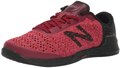 New Balance Damen Minimus Prevail V1 Crosstrainer, Rot (Neo Purpur/Candy Pink/Schwarz), 42 EU
