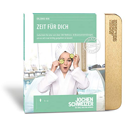 Jochen Schweizer Erlebnis-Box Zeit Für Dich, mehr als 270 Erlebnisse für 1 Person, Geschenkidee für Frauen