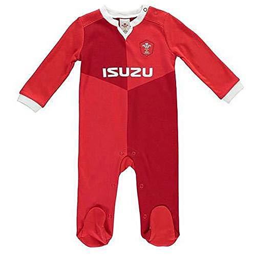 Official Wales RFU - Sleepsuit (9-12 Months - QT)