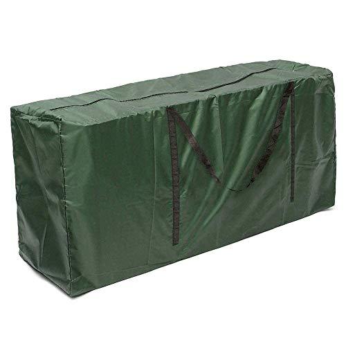 Dandelionsky Garden Furniture Cushion Storage Bag with Handle Heavy Duty Waterproof 210D Oxford Fabric Christmas Tree Storage Bag with Zipper Organiser 173 x 76 x 51 cm