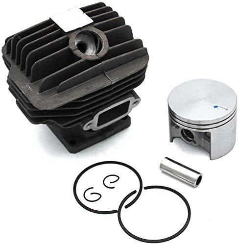 XHUENG Durable Kit de pistón de Cilindro de 52mm para Stihl 046 MS460, Conjunto de Pinzas de Anillo de Motosierra, Piezas de Repuesto de Motor # 1128-020-1217