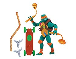 Totally new Turtles, villains and allies based on the new 2018 Rise Of The Teenage Mutant Ninja Turtles TV show! Most detailed figures ever! Complete with articulation. Perfect replica of the characters from The Rise of Teenage Mutant Ninja Turtles T...