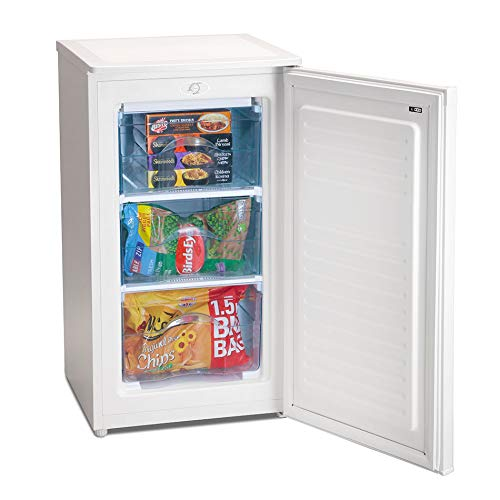 IceKing 48cm Under Counter Freezer in White RZ109AP2