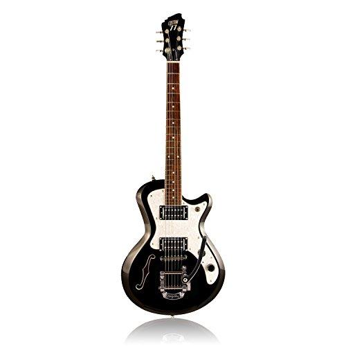 Custom77 London's Burning Mark II gitaar, zwart