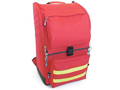 GiMa Ambulance Rucksack, 40cm l x 30cm W x 57cm H, rot, Notfall, Trauma, Rescue, medical, Erste Hilfe, Krankenschwester, Paramedic Multi Pocket Tasche