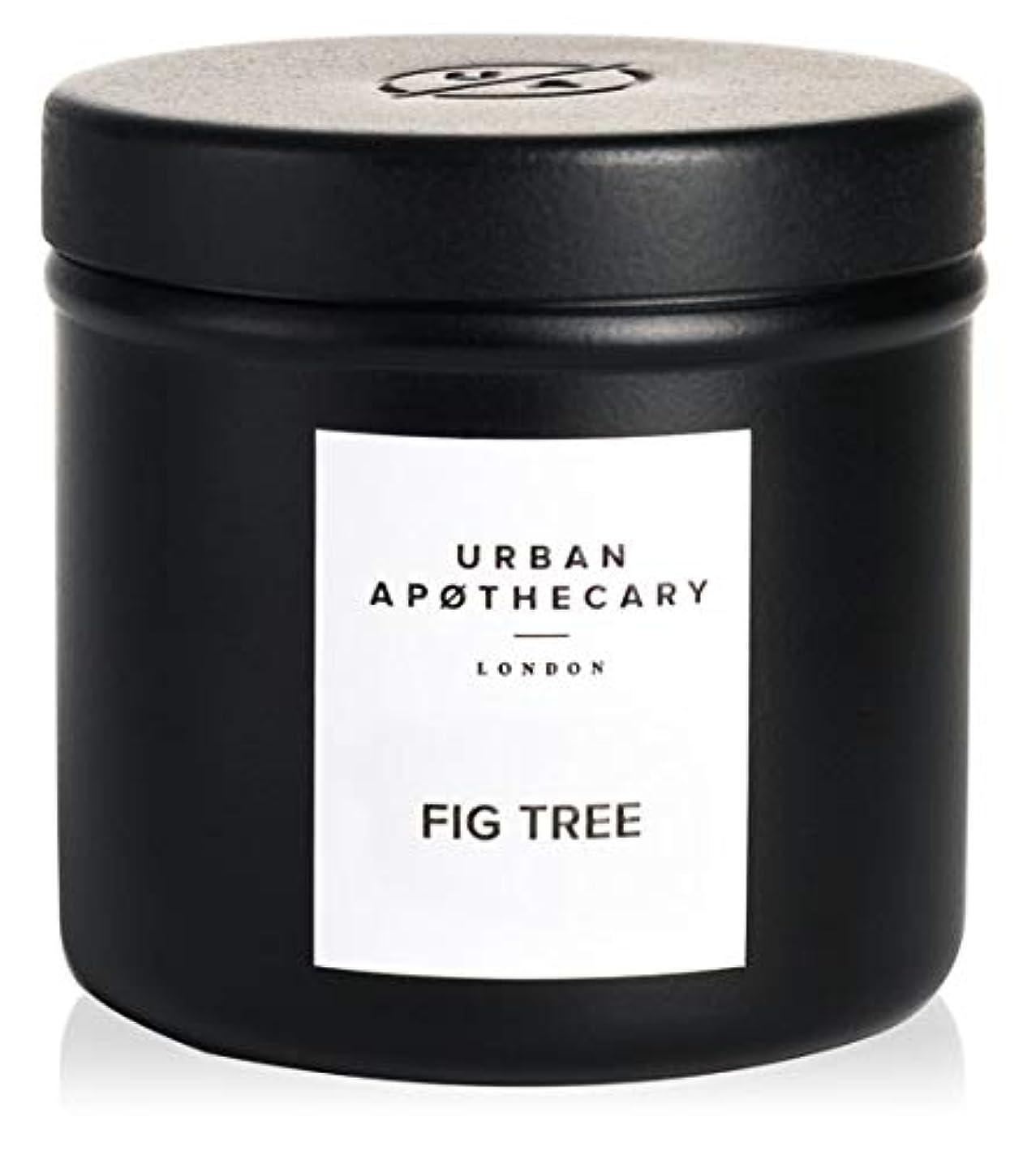 高度な着替える評議会URBAN APOTHECARY トラベルキャンドル FIG TREE 175g