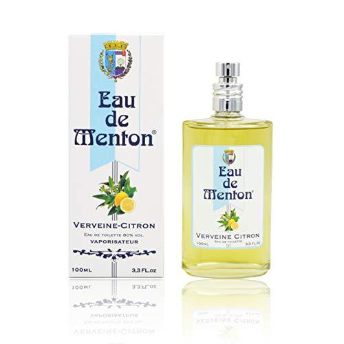 Eau de Menton - Verveine Citron - Eau de Toilette Femme, Artisan Parfumeur en Côte d'Azur (100 ml)