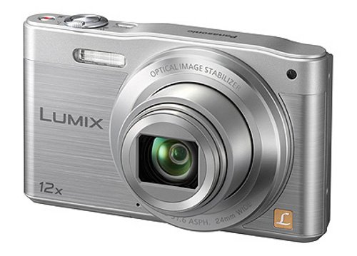 Panasonic DMC-SZ8EG-S Travellerzoom Kompaktkamera (16 Megapixel, 12-fach opt. Zoom, 7,6 cm (3 Zoll) LCD-Display, Full HD, WiFi) silber