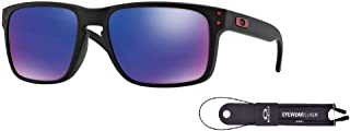 Oakley Holbrook OO9102 Sunglasses For Men For Women+BUNDLE with Oakley Accessory Leash Kit