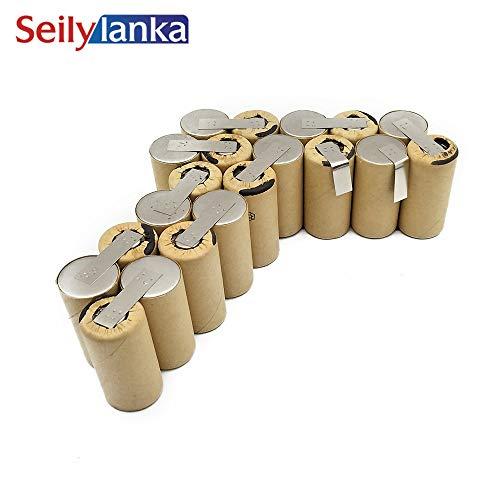 Seilylanka 3000mAh per batteria Parkside 24V Ni MH CD PSBS 24 A1-1 PSBS24A1-1 per autoinstallazione