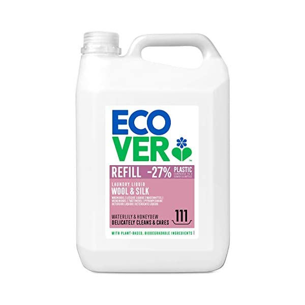 Ecover Delicate Laundry Liquid Waterlily & Honeydew Refill110 Wash, 5L