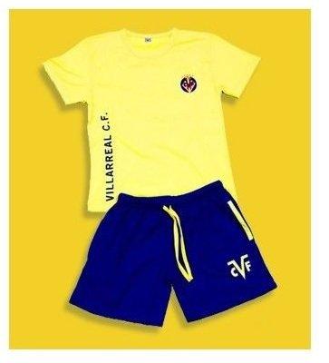 Madness Pijama Villarreal Club de Fútbol Verano Adulto (XXL)