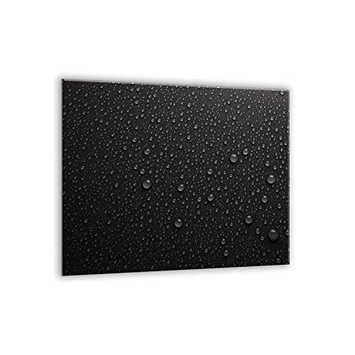 SemUp Gigante tabla de cortar encimera de cristal endurecido | Protector de pantalla | splash-back | 60 cm x 52 cm para cocinas de inducción eléctrica vitrocerámica halógena | resistente al calor