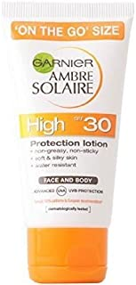 Garnier Ambre Solaire Face and Body Ultra-hydrating Protection Lotion with SPF30, 50ml
