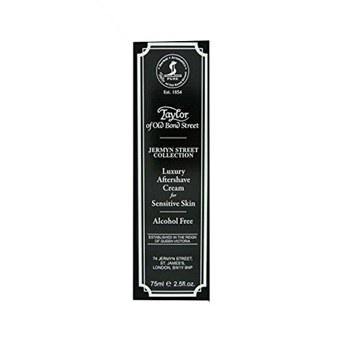 Taylors Jermyn Street Collection Luxury Aftershave Cream for Sensitive Skin (75 ml)